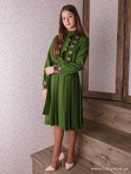 Вишите плаття D-113-01