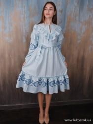 Вишите плаття D-114-01