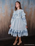 Вишита сукня D-114-01