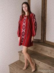 Вишите плаття D-115-01