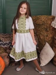 Вишите плаття для дівчинки D-122-01-d