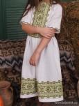Вишита сукня для дівчинки D-122-01-d