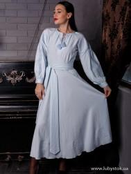 Вишите плаття D-124-01