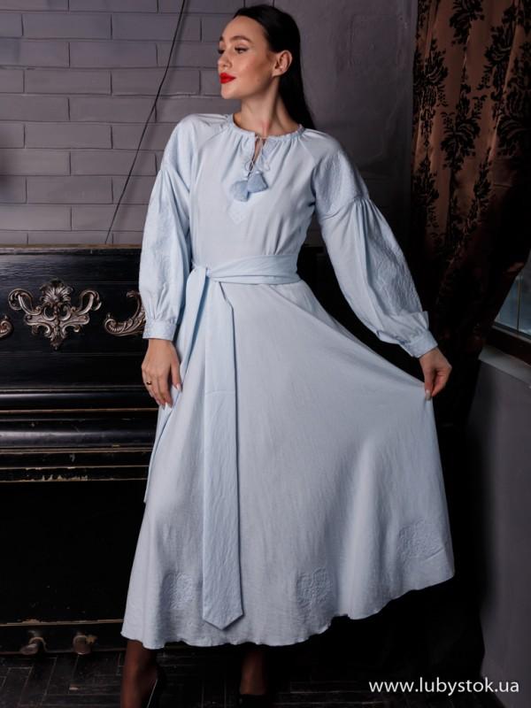 Вишита сукня D-124-01