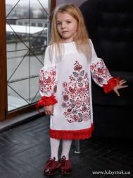 Вишите плаття для дівчинки D-128-01-d