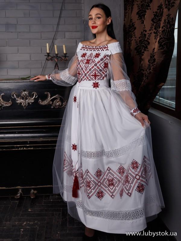 Вишита сукня D-131-01