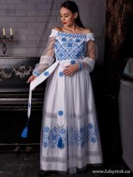 Вишите плаття D-131-02