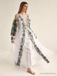 Вишите плаття D-134-01