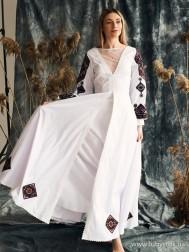 Вишите плаття D-136-01