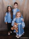 Сімейні вишиванки сестра, братик і сестричка F-014