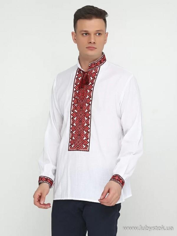 Чоловіча вишита сорочка S-003-01