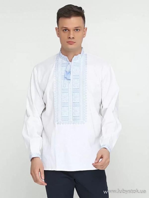 Чоловіча вишита сорочка S-013-08