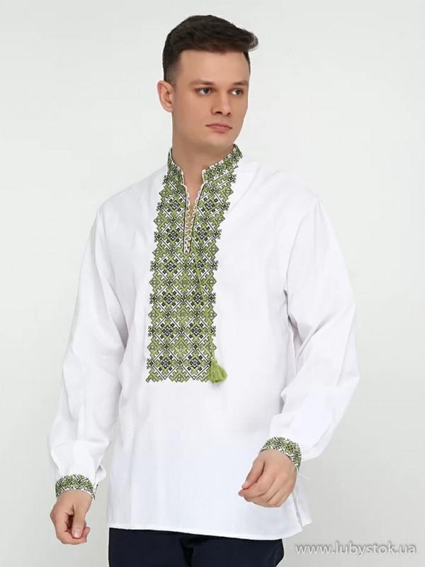 Чоловіча вишита сорочка S-019-04