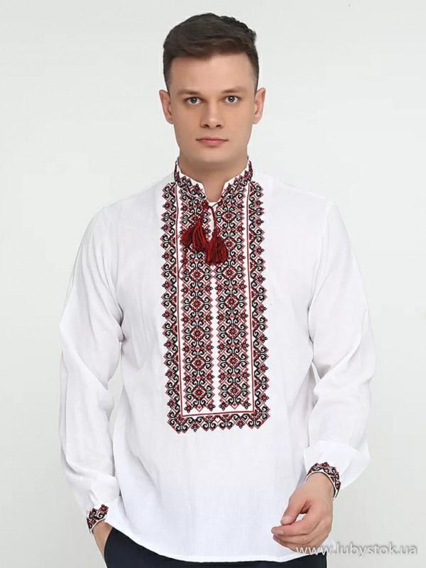 Чоловіча вишита сорочка S-033-01
