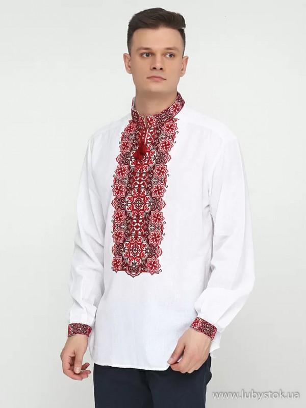 Чоловіча вишита сорочка S-041-02