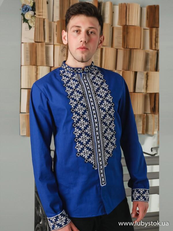 Чоловіча вишита сорочка S-046-01