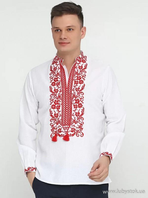 Чоловіча вишита сорочка S-048-01