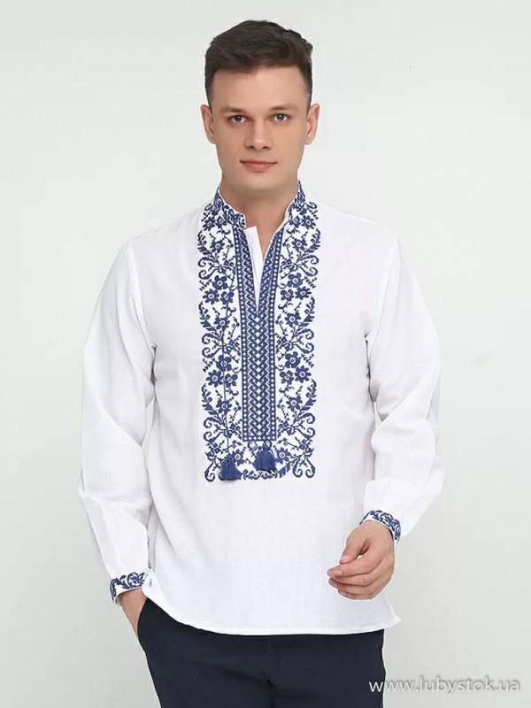 Чоловіча вишита сорочка S-048-04