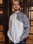 Чоловіча вишита сорочка S-055-01