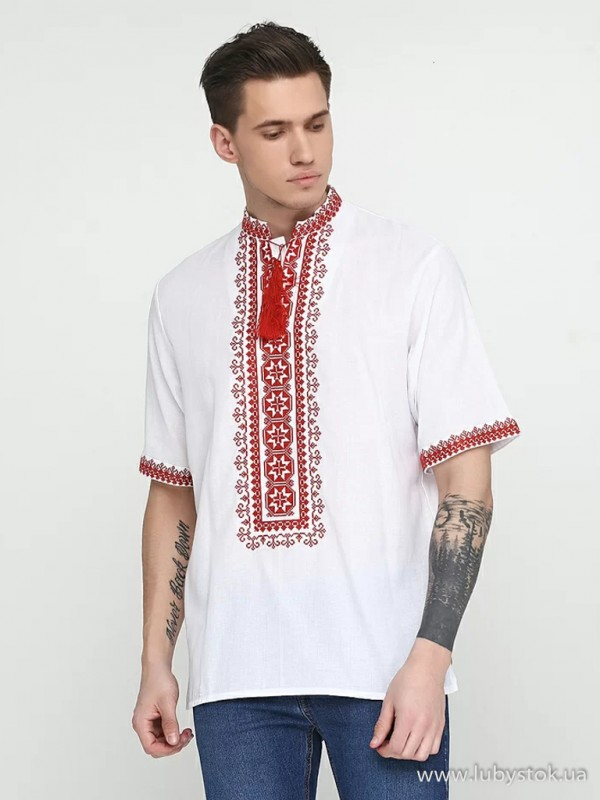 Чоловіча вишита сорочка S-057-01
