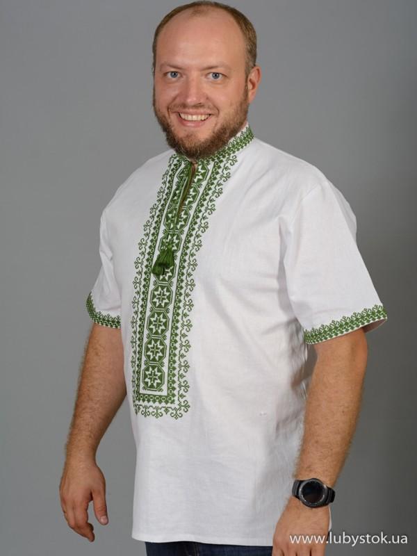 Чоловіча вишита сорочка S-057-04