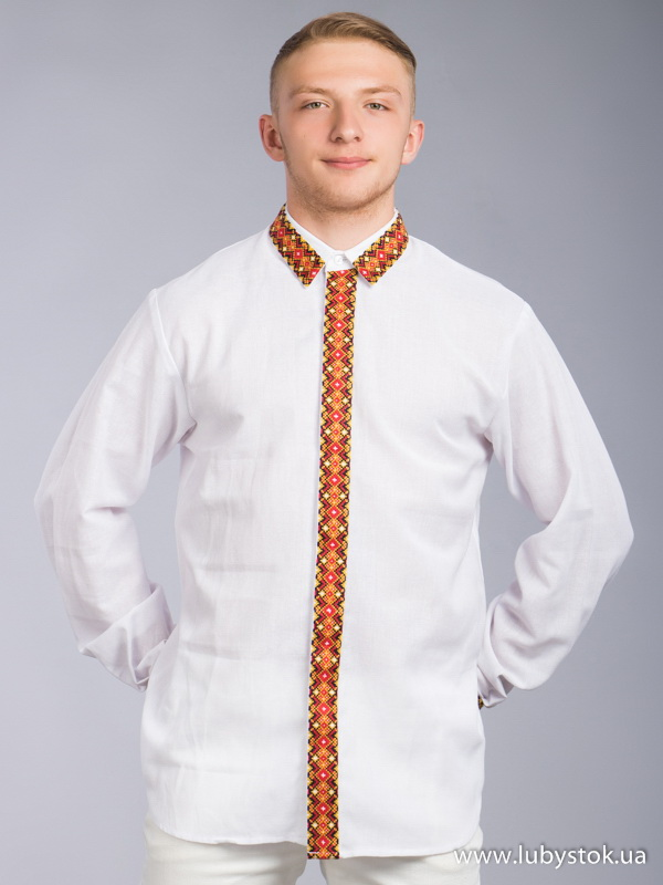 Чоловіча вишита сорочка S-064-01