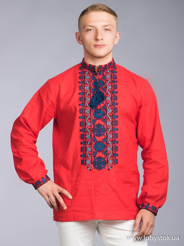 Чоловіча вишита сорочка S-065-01