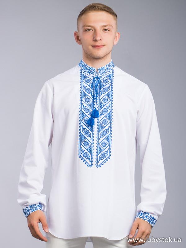 Чоловіча вишита сорочка S-066-01
