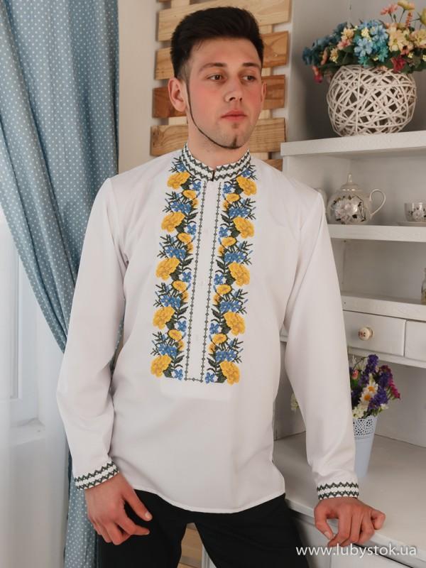 Чоловіча вишита сорочка S-119-01
