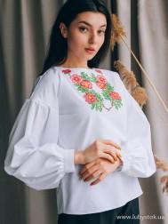 Вишиванка-блуза B-084-01