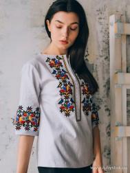 Вишиванка-блуза B-086-01