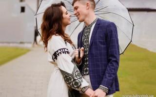Вишиванка та вишита сукня для розпису чи весілля