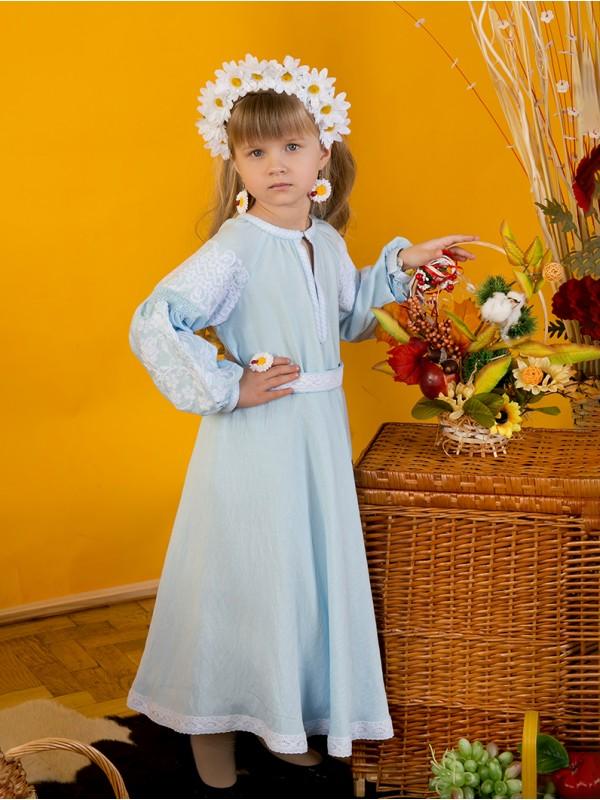 Вишита сукня для дівчинки D-121-03-d