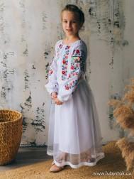 Вишите плаття для дівчинки D-138-01-d