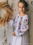 Вишита сукня для дівчинки D-138-01-d