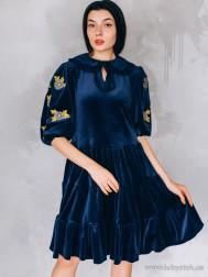 Вишите плаття D-140-01