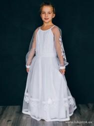 Вишите плаття для дівчинки D-141-01-d