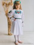 Вишита сукня для дівчинки D-142-01-d