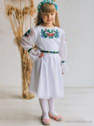 Вишите плаття для дівчинки D-142-01-d