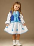 Вишитий костюм для дівчинки ЖК 55-12