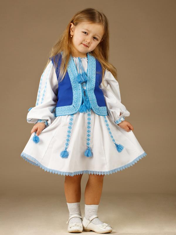 d3cfb9a5b4b02a Вишитий костюм для дівчинки ЖК 55-12 - купити