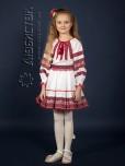 Вишитий костюм для дівчинки ЖК 81-78