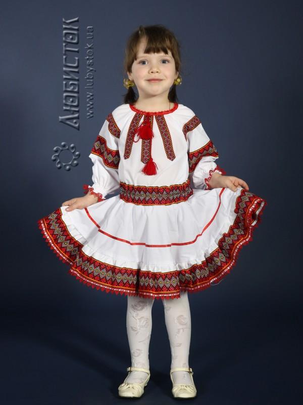 c0c425ff79183d Вишитий костюм для дівчинки ЖК 82-44 - купити