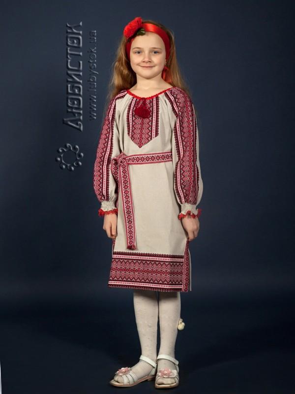 Вишите плаття ЖП 5-49