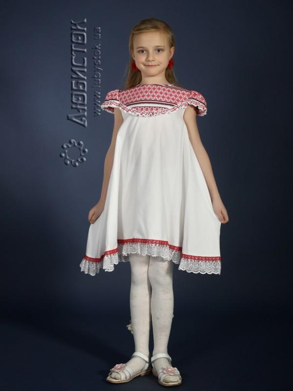 Вишита сукня для дівчинки ЖП 12-17