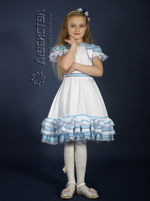Вишита сукня для дівчинки ЖП 14-36