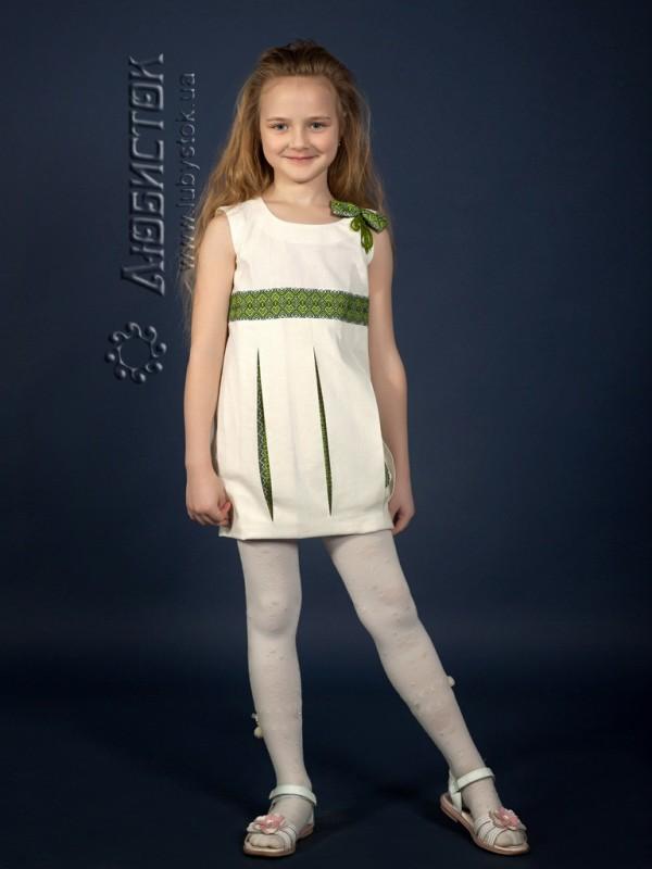 Вишита сукня для дівчинки ЖП 15-31