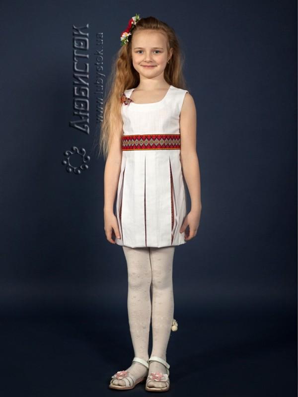 Вишита сукня для дівчинки ЖП 15-44