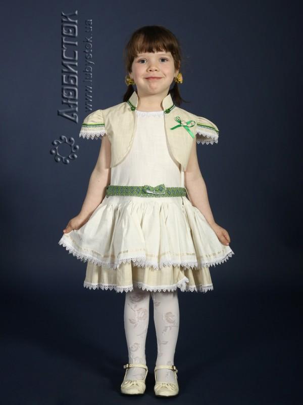 Вишита сукня для дівчинки ЖП 18-15