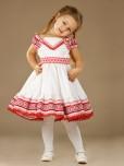 Вишита сукня для дівчинки ЖП 21-17